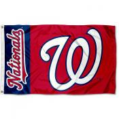Nationals Outdoor Flag