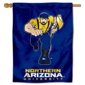 NAU Lumberjacks House Flag