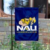 NAU Lumberjacks Logo Garden Flag