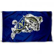 Navy Midshipmen Bill the Goat Flag
