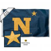 Navy Midshipmen Small 2'x3' Flag