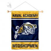 Navy Midshipmen Window and Wall Banner