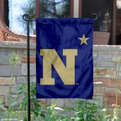 Navy N-Star Logo Garden Flag
