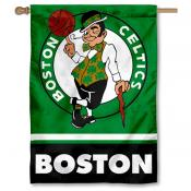 NBA Boston Celtics Two Sided House Banner