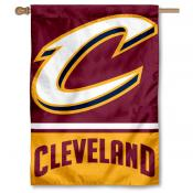 NBA Cleveland Cavaliers Two Sided House Banner