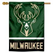 NBA Milwaukee Bucks Two Sided House Banner