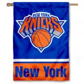 NBA New York Knicks Two Sided House Banner