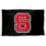 NC State Black 3x5 Flag