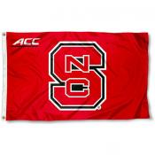 NC State Wolfpack ACC Flag