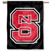 NC State Wolfpack Black Banner Flag