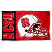 NC State Wolfpack College Football Flag
