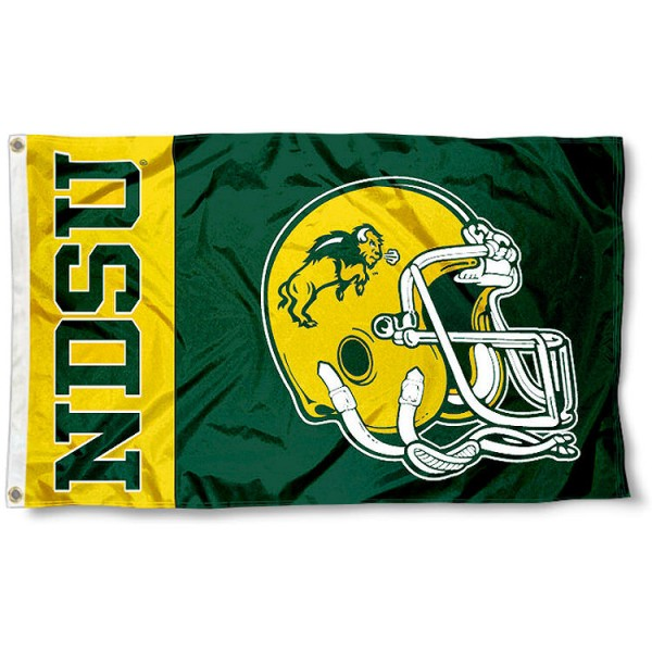 NDSU Bison College Football Flag