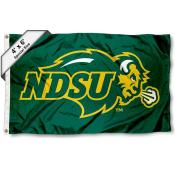 NDSU Bison Large 4x6 Flag