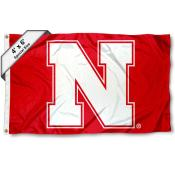 Nebraska Cornhuskers Large 4x6 Flag