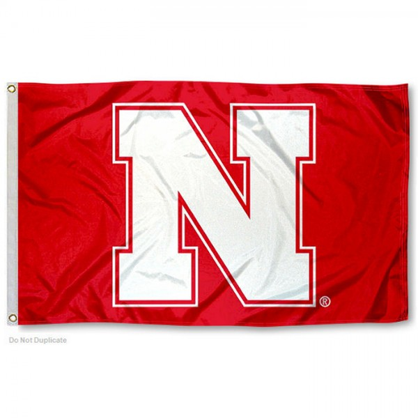 Nebraska Cornhuskers N Logo Flag measures 3x5 feet, is made of 100% polyester, offers quadruple stitched flyends, has two metal grommets, and offers screen printed NCAA team logos and insignias. Our Nebraska Cornhuskers N Logo Flag is officially licensed by the selected university and NCAA.