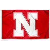 Nebraska Cornhuskers N Logo Flag