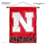 Nebraska Cornhuskers Wall Banner