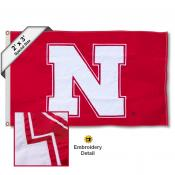 Nebraska Huskers Small 2'x3' Flag