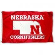 Nebraska Huskers State Marker Flag