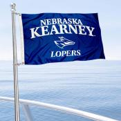 Nebraska Kearney Lopers Boat and Mini Flag