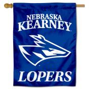 Nebraska Kearney Lopers Double Sided House Flag