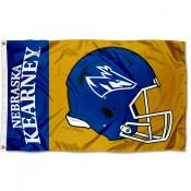 Nebraska Kearney Lopers Football Helmet Flag