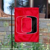 Nebraska Omaha Mavericks Red Garden Flag