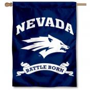 Nevada Wolfpack Battle Born Banner Flag