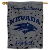 Nevada Wolfpack Congratulations Graduate Flag