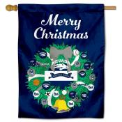 Nevada Wolfpack Happy Holidays Banner Flag