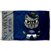 Nevada Wolfpack Kawaii Tokyodachi Yuru Kyara Flag