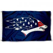 Nevada Wolfpack Patriotic Flag