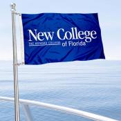 New College of Florida Boat and Mini Flag