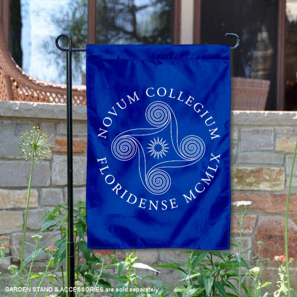 New College of Florida Garden Flag is 13x18 inches in size, is made of 2-layer polyester, screen printed university athletic logos and lettering, and is readable and viewable correctly on both sides. Available same day shipping, our New College of Florida Garden Flag is officially licensed and approved by the university and the NCAA.