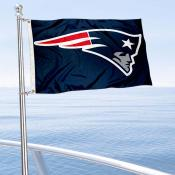 New England Patriots Boat and Nautical Flag