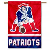 New England Patriots Pat Patriot Retro House Banner