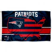 New England Patriots USA Country Flag