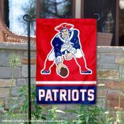 New England Patriots Vintage Garden Flag
