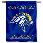 New Haven Chargers Banner Flag
