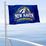 New Haven Chargers Boat and Mini Flag