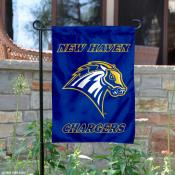 New Haven Chargers Logo Garden Flag