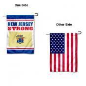 New Jersey Strong USA Garden Flag