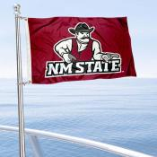 New Mexico State Aggies Boat and Mini Flag