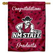 New Mexico State Aggies Congratulations Graduate Flag