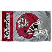 New Mexico State Aggies Football Helmet Flag
