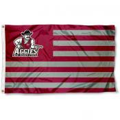 New Mexico State Aggies Stripes Flag