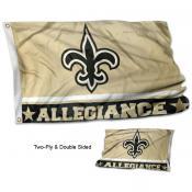 New Orleans Saints Allegiance Flag