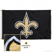 New Orleans Saints Embroidered Nylon Flag