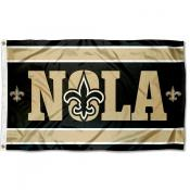 New Orleans Saints NOLA Flag