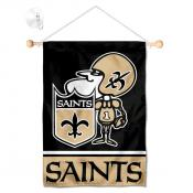 New Orleans Saints Sir Saint Window and Wall Banner